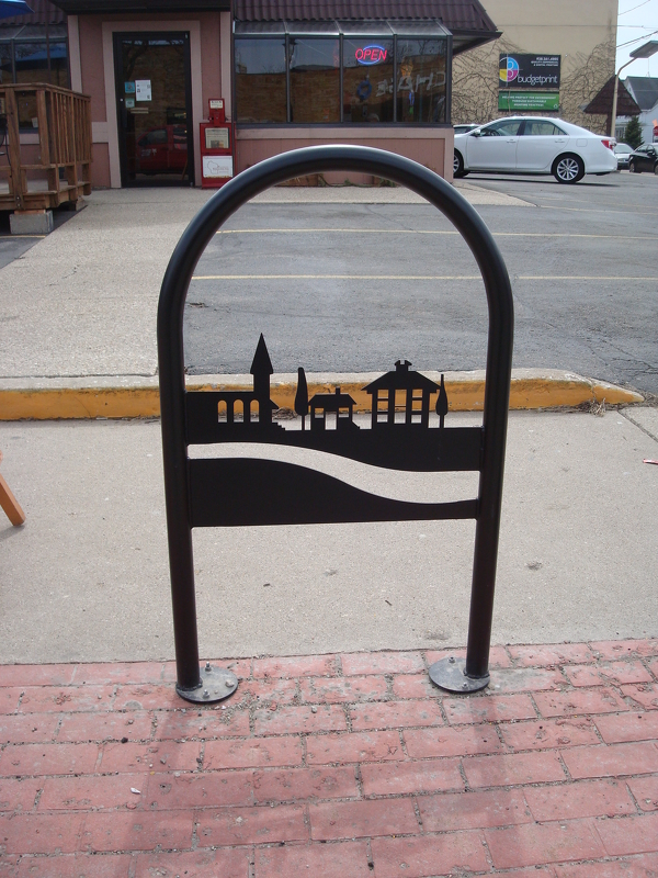 Downtown Bike Rack