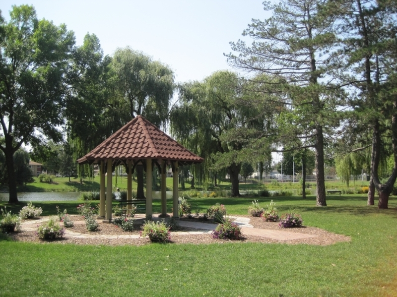 Island Gazebo at Riverside Park