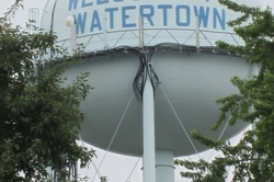 The Watertown Water Tower
