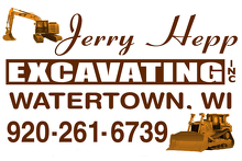 Jerry Hepp Excavating, Inc. Logo