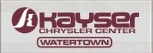 Kayser Chrysler Center of Watertown Logo