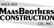 Maas Brothers Construction Co Logo