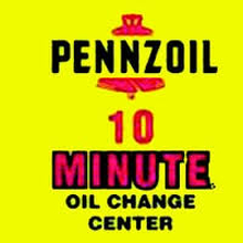 Pennzoil 10 Minute Oil Change Center Logo
