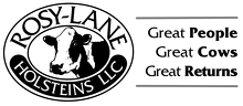 Rosy-Lane Holsteins LLC Logo