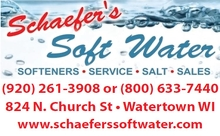 Schaefer's Soft Water, Inc. Logo
