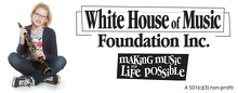 White House of Music Inc Logo