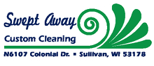 Swept Away Custom Cleaning Logo