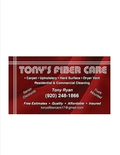 Tony's Fiber Care Logo
