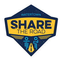 Watertown Share the Road Logo