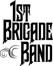 Heritage Military Music Foundation / 1st Brigade Band Logo